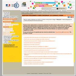 FAQ Lycée - Journaux scolaires et lycéens - Productions médiatiques scolaires