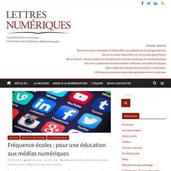 Fréquence écoles: pour une éducation aux médias numériques