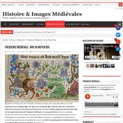 Fréquence Médiévale : rire au Moyen Âge