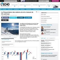 La fréquentation des stations de ski a baissé de 4% cet hiver - L'Echo Touristique