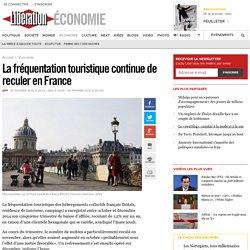 La fréquentation touristique continue de reculer en France