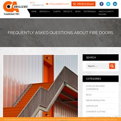 Frequently Asked Questions About Fire Doors