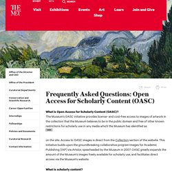 Frequently Asked Questions: Open Access for Scholarly Content (OASC)