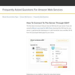 Frequently Asked Questions for Amazon Web Services