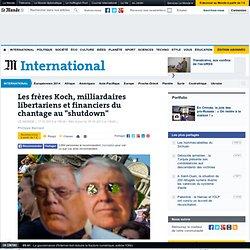 """Les frères Koch, les milliardaires derrière le """"shutdown"""""""