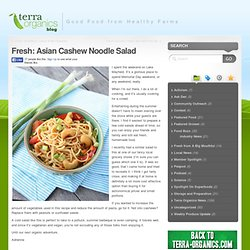 « Fresh: Asian Cashew Noodle Salad