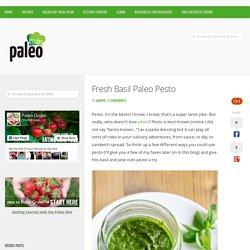 Fresh Basil Paleo Pesto