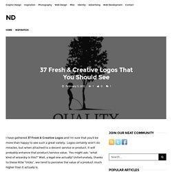 37 Fresh & Creative Logos That You Should See