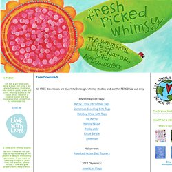 fresh picked whimsy: Free Downloads