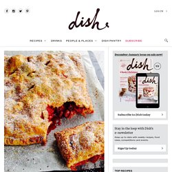 Fresh Strawberry and Rhubarb Pie - Dish