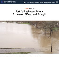 Earth's Freshwater Future: Extremes of Flood and Drought