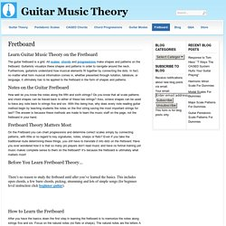Fretboard Theory, Learn Guitar Music Theory on the Fretboard
