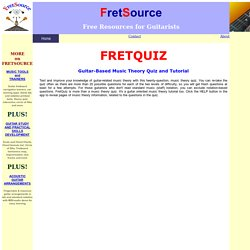 FretQuiz - Guitar Music Theory Quiz App