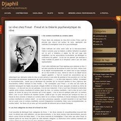 Le rêve chez Freud – Freud et la théorie psychanalytique du rêve