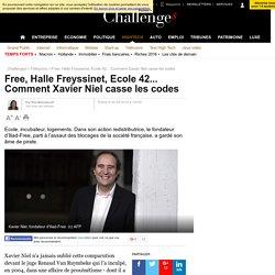 Free, Halle Freyssinet, Ecole 42... Comment Xavier Niel casse les codes