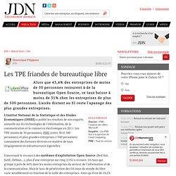 Les TPE friandes de bureautique libre - Journal du Net Solutions