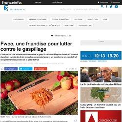 FRANCE 3 RHONE ALPES 19/01/16 Fwee, une friandise pour lutter contre le gaspillage