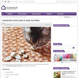 Friandises pour chats à faire soi-même