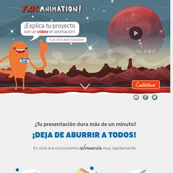 Fric Animation! - Inicio