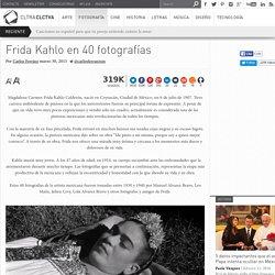 Frida Kahlo en 40 fotografías