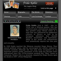Frida Kahlo - The complete works