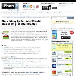 Black Friday Apple : sélection des promos les plus intéressantes