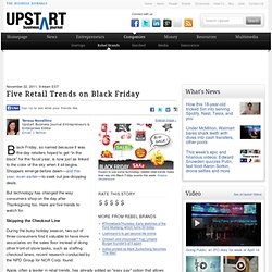 Five Black Friday Trends That Will Impact Retailers - Executive Style