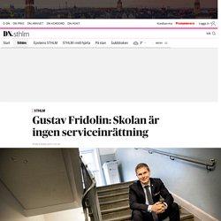 Gustav Fridolin: Skolan måste ha regler för hur föräldrakontakten ska gå till