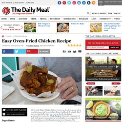 Easy Oven-Fried Chicken Recipe
