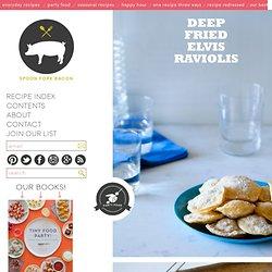 Deep Fried Elivis Raviolis recipe