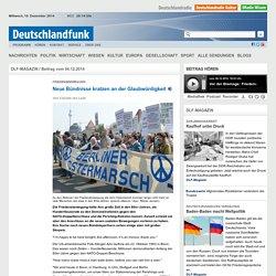 Friedensbewegung - Neue Bündnisse kratzen an der Glaubwürdigkeit