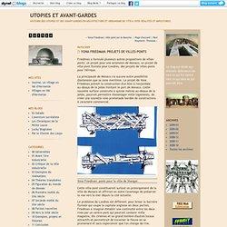 Yona Friedman: projets de villes-ponts