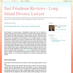 Sari Friedman Reviews - Long Island Divorce Lawyer: Sari Friedman Review