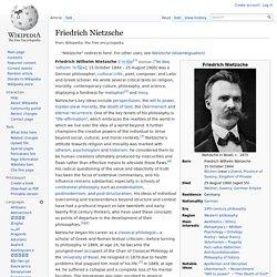 Friedrich Nietzsche, wikipedia