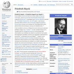 Friedrich Hayek