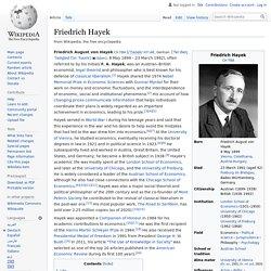 Friedrich Hayek - Wikipedia