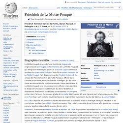 Friedrich de La Motte-Fouqué