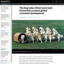 The Dog Index: What man's best friend tells us about global economic development