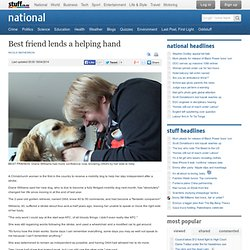 Best friend lends a helping hand - national