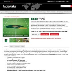 Water based Eco Friendly athletic field line golf course marking paint