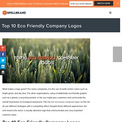 Top 10 Eco Friendly Company Logos