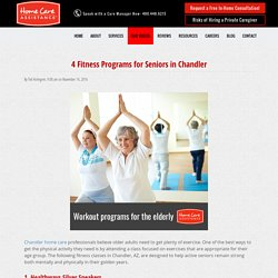 4 Senior-Friendly Exercise Programs in Chandler