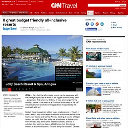 10 budget friendly all-inclusive resorts