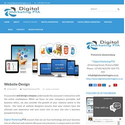 SEO Friendly Website Design Company Pretoria, South Africa