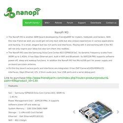 FriendlyARM-NanoPi M3