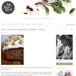 Best Friends Banana Carrot Cake