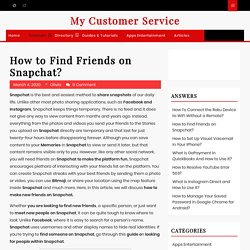 How to Find Friends on Snapchat?