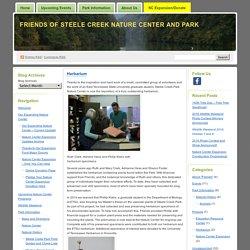 Friends of Steele Creek Nature Center and Park » Herbarium