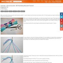 Arrow bracelet - #2 Friendship Bracelet Tutorial