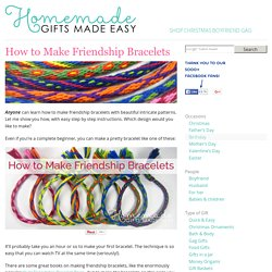 How to Make Friendship Bracelets - in 7 Easy Steps